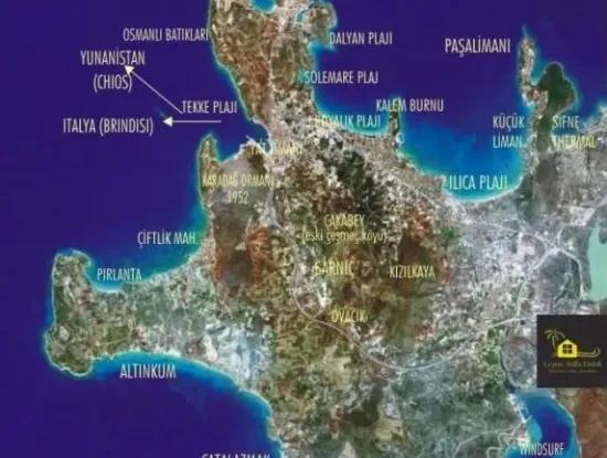 Land For Sale In Cesme Ovacik