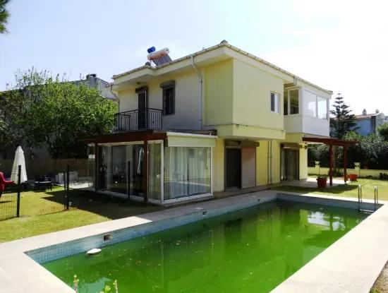 Duplex Villa For Sale With Pool In Alacati