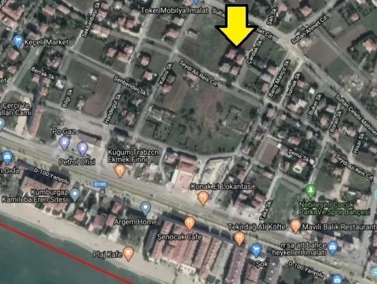İstanbul Büyükçekmece Kamiloba'da Güzel Konumda Yatırımlık Arsa