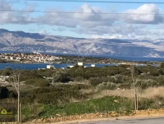 Çeşme Dalyan'Da Satılık Deniz Manzaralı Arsa